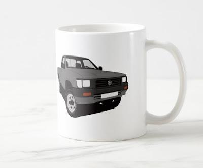 Toyota Hilux lava-auto kahvimuki