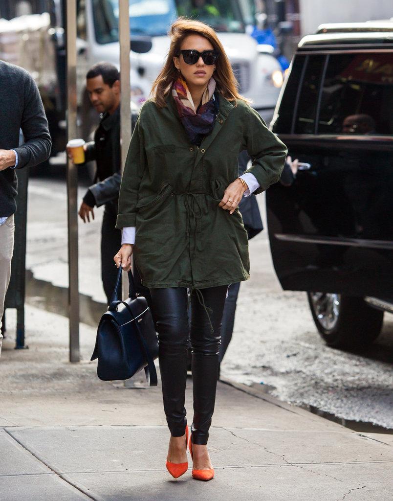 Fashion Icon Jessica Alba 39 S Chic Street Style North Fashion