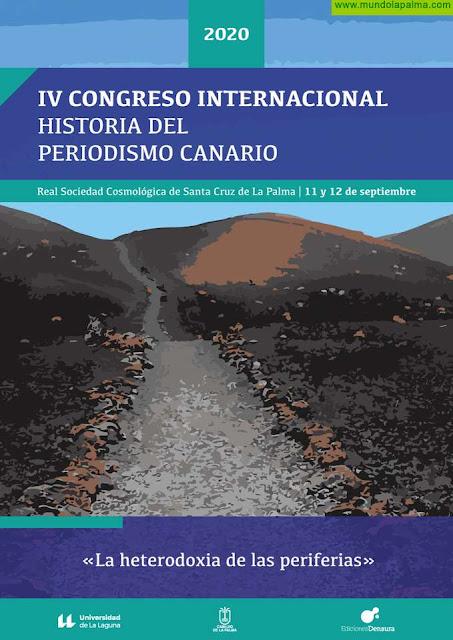 La Palma acoge las jornadas del IV Congreso Internacional Historia del Periodismo Canario