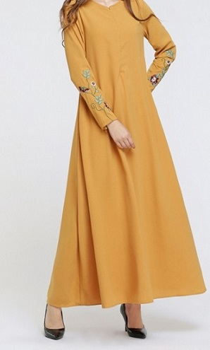 NBH0594 EMBROIDERY JUBAH