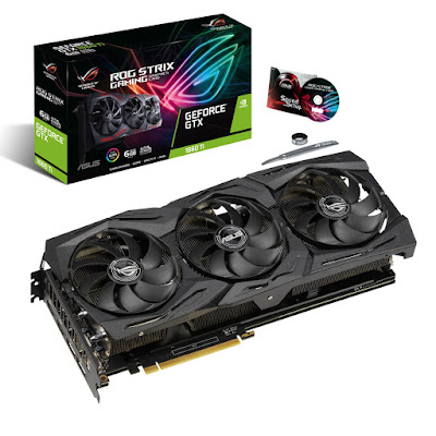 ROG Strix GeForce® GTX 1660 Ti 6GB GDDR6