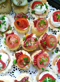 canapes, catering, party food