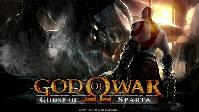 God Of War: Ghost of Sparta psp iso+cso Game Rom Free Download