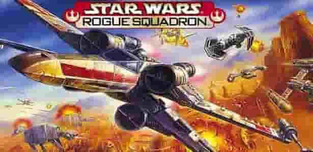 portada del juego Star Wars Rogue Squadron de Nintendo 64 rom para descargar haciendo clic aqui
