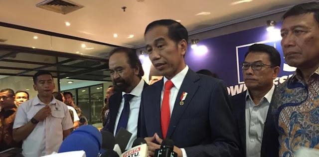 Soal Deklarasi #2019GantiPresiden, Jokowi Ingatkan Ada Batasannya
