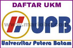 Daftar UKM Di Universitas Putera Batam (UPB)
