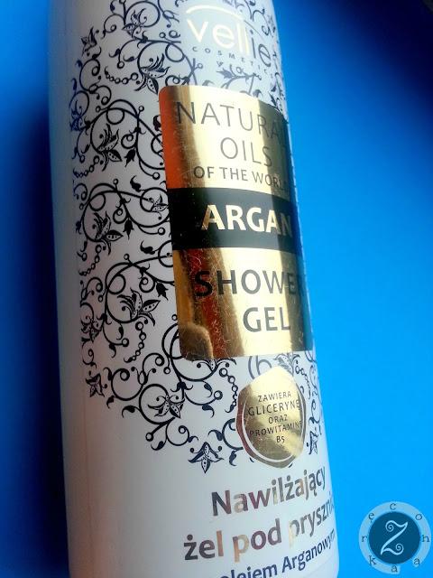 żel pod prysznic z olejem arganowym