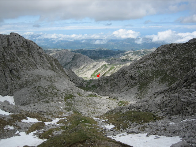 Rutas Montaña Asturias: Vista atrás subiendo al Requexón