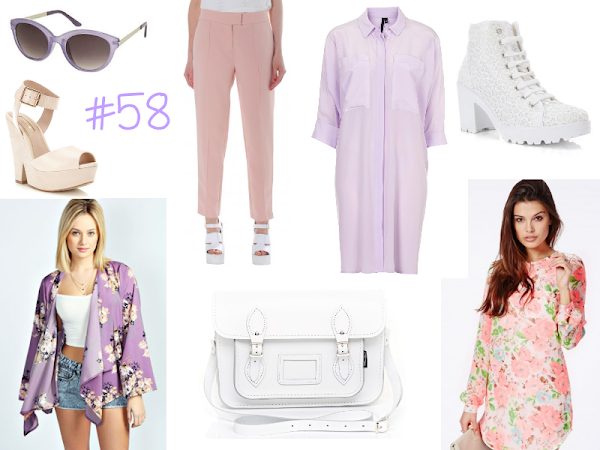 Wishlist #58 - Pink, Lilac & White