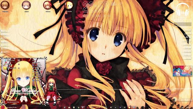 Rozen Maiden - Shinku Theme Win 7 by Andrea_37