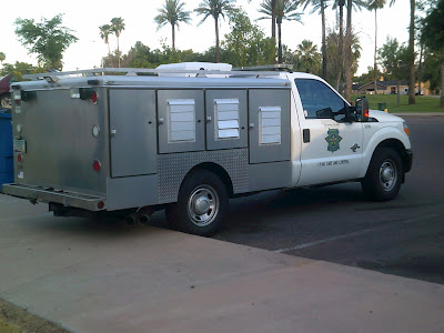 Maricopa County Animal Care and Control vehicle