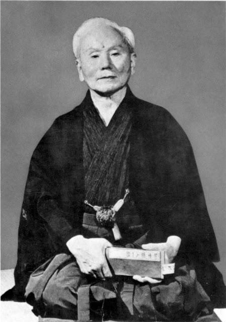 El maestro Gichin Funakoshi
