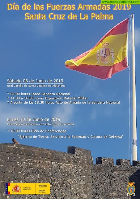 La Celebración del Día de Las Fuerzas Armadas en La Isla de La Palma se realizará en El Real Castillo de Santa Catalina