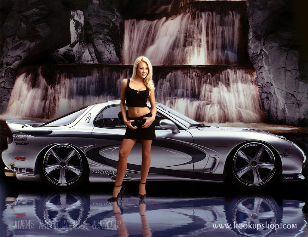 Best Wallpapers Zone Hot Girl And Car Wallpaper Hd