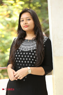 Abhinaya Pictures in Salwar Kameez at Tholi Kiranam Press Meet  0003.JPG