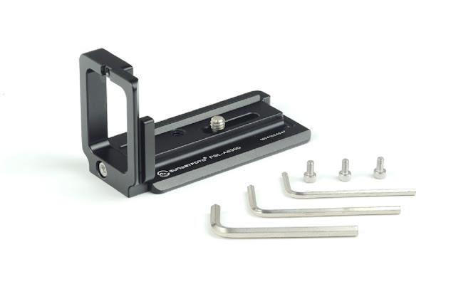 Sunwayfoto PSL-A6300 L bracket with hardware