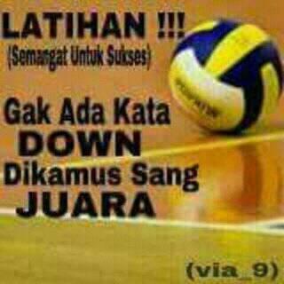 Kata Kata Motivasi Volleyball