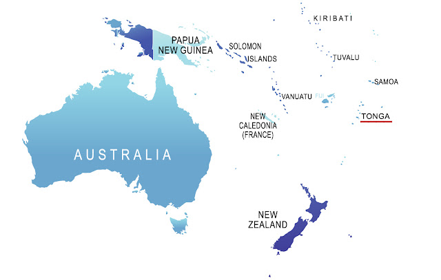 Map Attribute: Australasia (including Polynesian Islands)