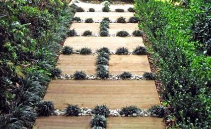 How To Make a Garden Stone Path With Gravel 6