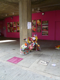 Southbank floral bicycle parade 1 on lambethcyclists.org.uk