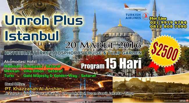 Program Paket Umroh Promo Khazzanah Tour Travel
