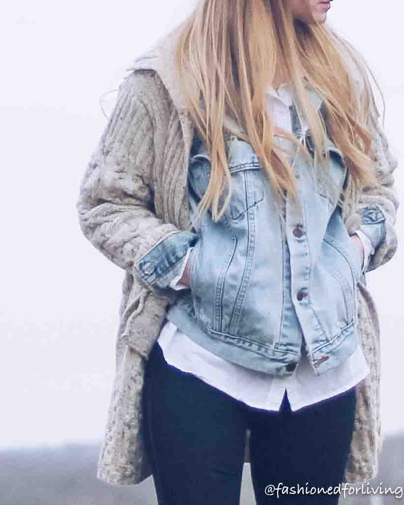 layered denim jacket outfit. layered sweater and denim jacket with tall cowgirl boots and skinny jeans-18.jpg