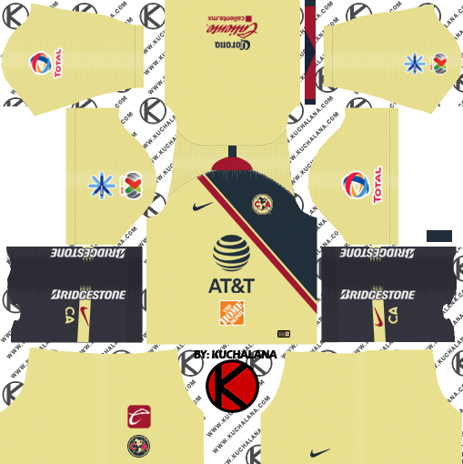 Club America Kit Dream League Soccer - The Best Soccer Team