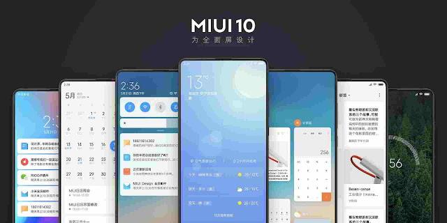 MIUI 10 Beta 8.7.5 Global version
