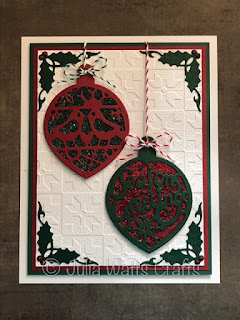 Image result for Creative Expressions Paper Cuts season's greetings bauble