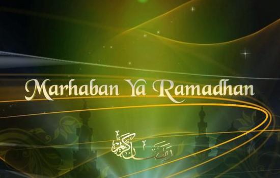 Ucapan Marhaban Ya Ramadhan 1438H
