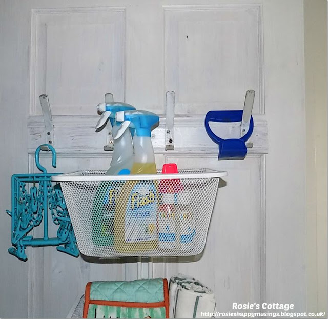 Cupboard door storage Algot basket one