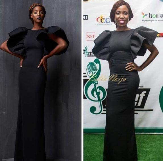Who rocked the dress better? Nwando Ebeledike or Lala Akindoju