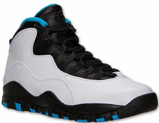 official photos e1b85 aeabf Air Jordan 10 Retro White Black-Dark Powder Blue Release Reminder
