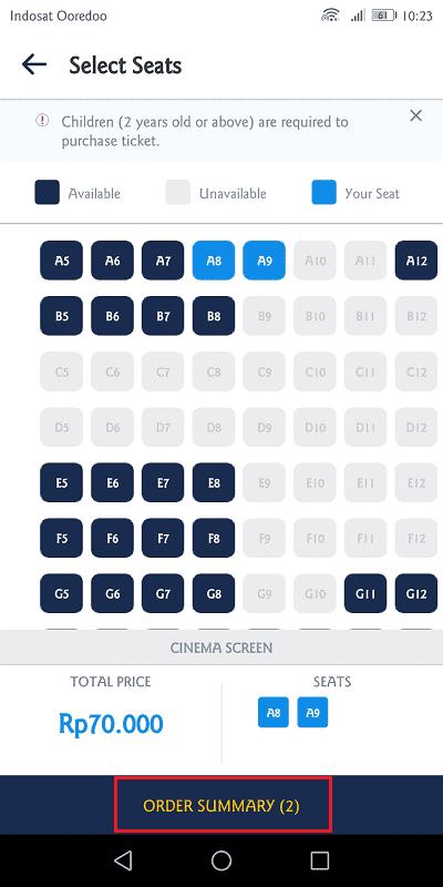 pilih kursi paling nyaman
