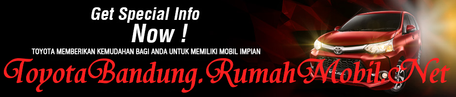 Paket Kredit Toyota Avanza Veloz Di Bandung