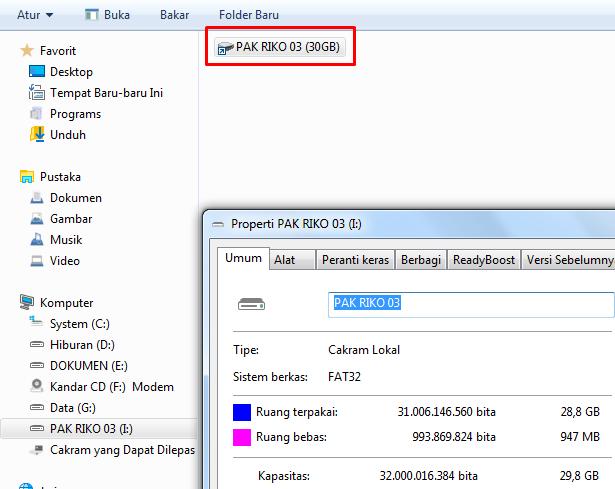 menghilangkan virus windows dengan linux