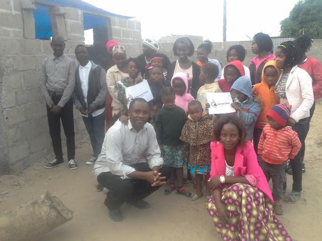 Eternal Love Church members in Maputo Mozambiq