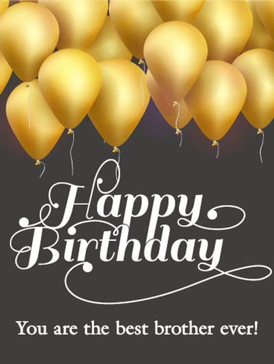 Best Birthday Wishes | Quotes | Messages and Images for  Elder Brother form Brother or Sister