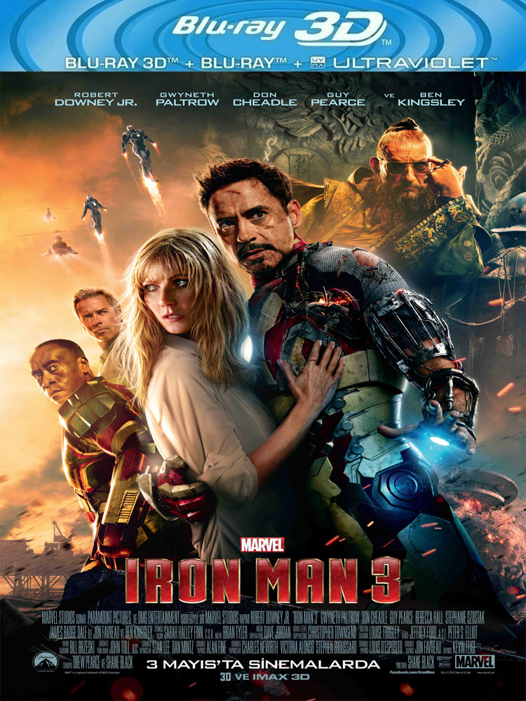 Demir Adam 3 - Iron Man 3 (2013) 3D Film indir