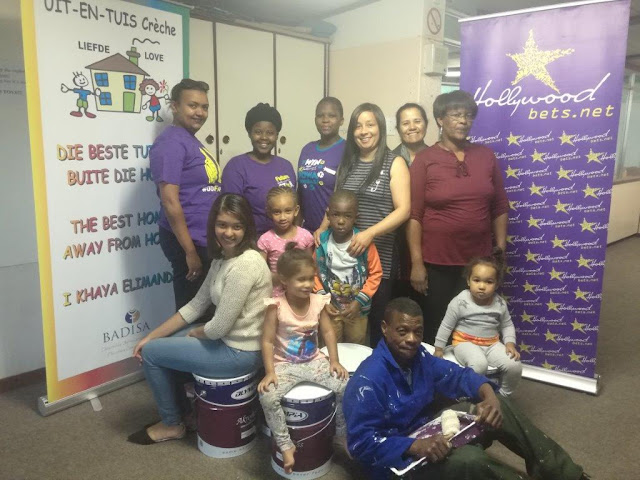 Uit en Tuis Creche - Hollywoodbets Parow - Donation - Charity