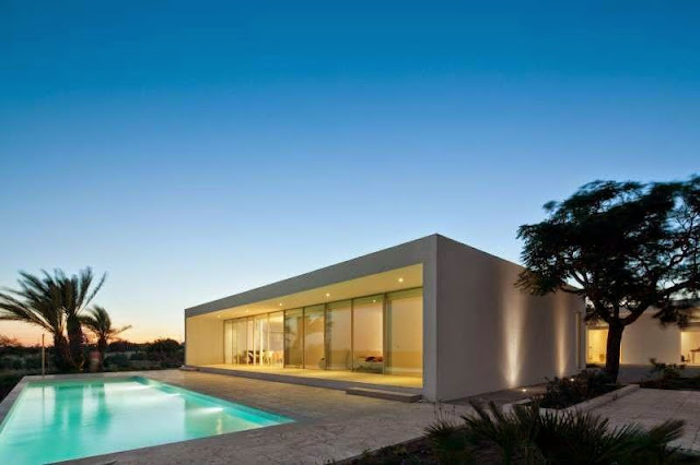 Modern House with Pool in Tavira