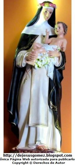 Imagen de Santa Rosa de Lima cargando al niño Jesús por Jesús Gómez