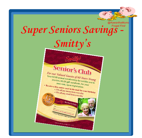 Seniors  Deal Lindsay Kawartha Lakes Smittys