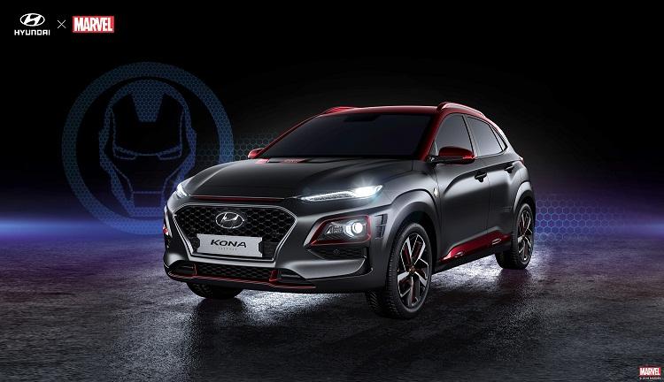 Hyundai Kona, Mobil Futuristik Bertema Iron Man