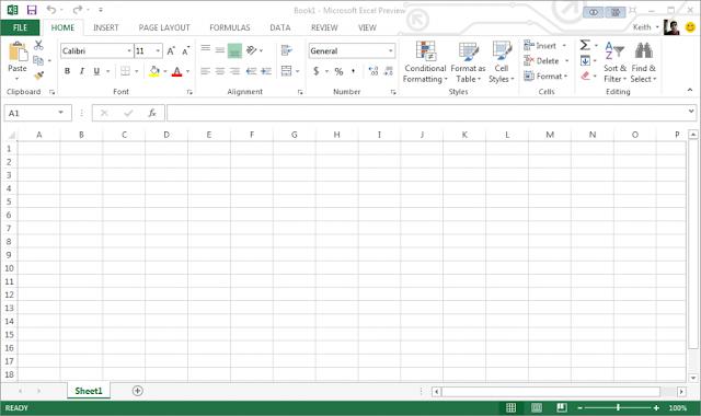 Microsoft Office Excel 2013 Metro UI