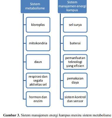 manajemen energi kampus dan metabolisme