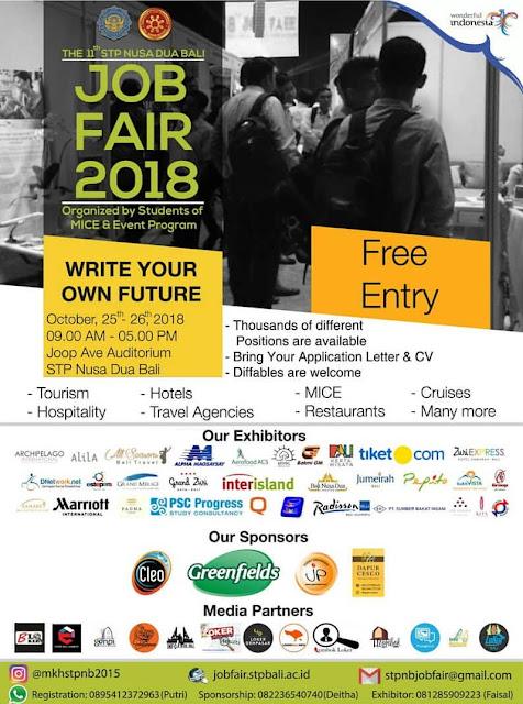 Job Fair Bali (Gratis)