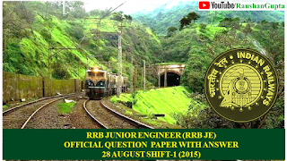 Rrb Senior Section Engineer Model Question Papers Pdf
