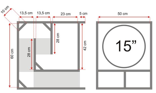 Skema Box Mini Scoop 15 inch