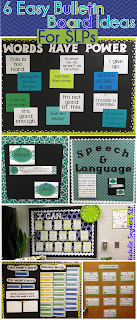 6 Easy Bulletin Board Ideas for SLPs
